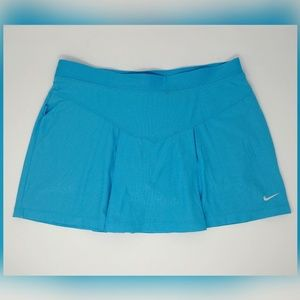 ✨3 for $29✨Nike tennis skirt skirt blue pleated